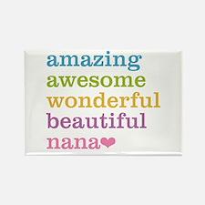 Nana - Amazing Awesome Rectangle Magnet (10 pack)