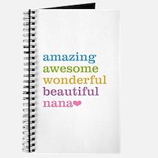 Nana - Amazing Awesome Journal