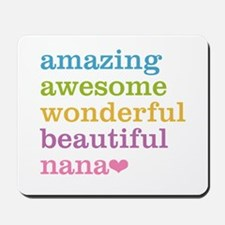 Nana - Amazing Awesome Mousepad