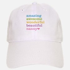 Nanny - Amazing Awesome Baseball Baseball Cap