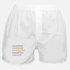 Nanny - Amazing Awesome Boxer Shorts