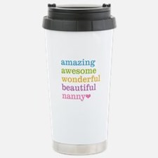 Nanny - Amazing Awesome Travel Mug