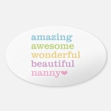 Nanny - Amazing Awesome Decal