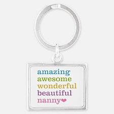 Nanny - Amazing Awesome Landscape Keychain