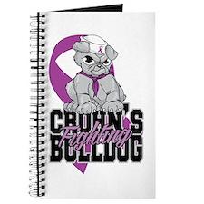 Crohns Fighting Bulldog Journal