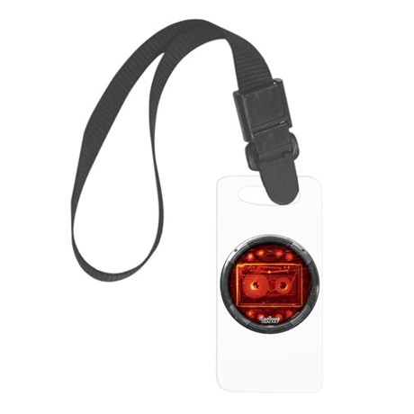 Star Lord Cassette Round Small Luggage Tag
