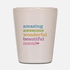 Nonni - Amazing Awesome Shot Glass