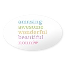 Nonni - Amazing Awesome Decal