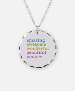 Nonni - Amazing Awesome Necklace Circle Charm