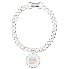 Nonni - Amazing Awesome Charm Bracelet, One Charm