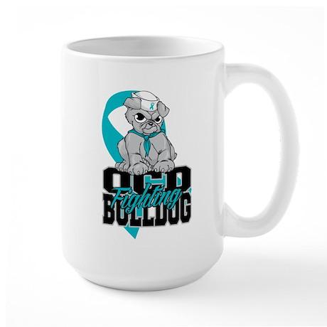 OCD Bulldog Large Mug