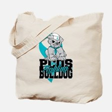 PCOS Bulldog Tote Bag
