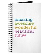 Tutu - Amazing Awesome Journal