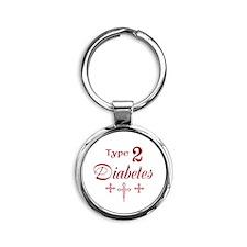Type 2 Diabetes Keychains