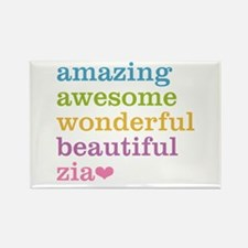 Zia - Amazing Awesome Rectangle Magnet