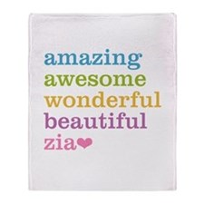 Zia - Amazing Awesome Throw Blanket
