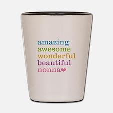 Nonna - Amazing Awesome Shot Glass