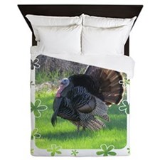 Wild Turkey Queen Duvet