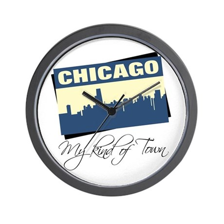Chicago - My Kind of Town Wall Clock
