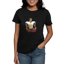 Bitcoin Football Go for the coin!! T-Shirt