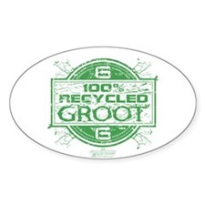 Recycled Groot Decal
