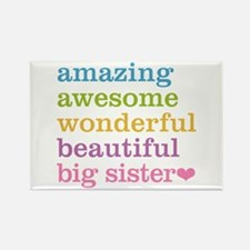 Big Sister - Amazing Awesome Rectangle Magnet