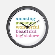 Big Sister - Amazing Awesome Wall Clock