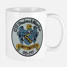 USS THEODORE E. CHANDLER Mug
