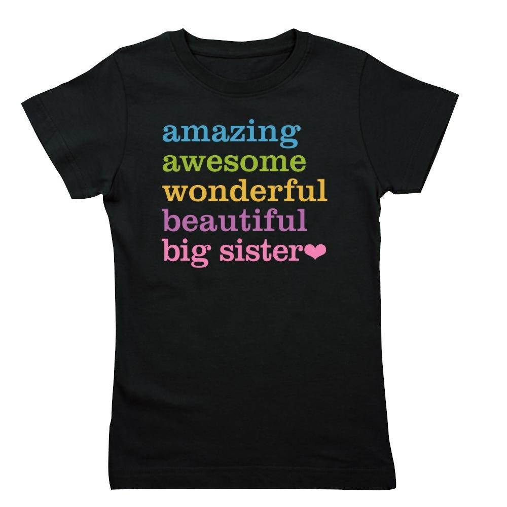 CafePress Big Sister - Amazing Awesome Girl's