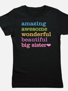 Big Sister - Amazing Awesome Girl's Tee