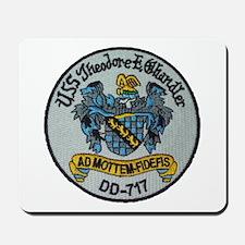 USS THEODORE E. CHANDLER Mousepad