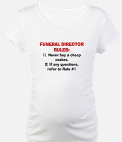 Funeral Director Rules Shirt
