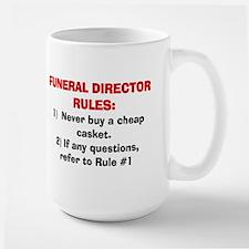 Funeral Director Rules Mugs