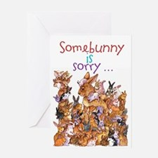 """Somebunny Is Sorry"" Card Greeting Cards"