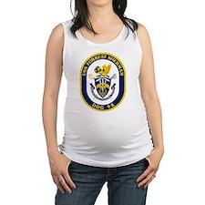 USS Forrest Sherman Maternity Tank Top