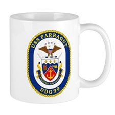 DDG 99 USS Farragut Mug