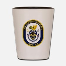 USS Forrest Sherman Shot Glass