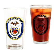 DDG 99 USS Farragut Drinking Glass
