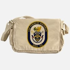 USS Forrest Sherman Messenger Bag