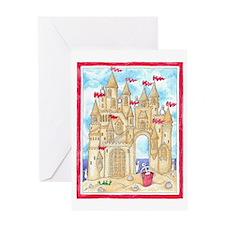 Sandcastle  Greeting Card