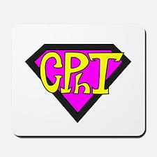 Superhero Technician Mousepad