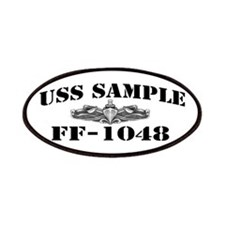 USS SAMPLE Patches