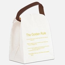 Golden Rule Week Canvas Lunch Bag