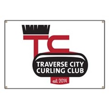 TC Curling Club Logo Banner