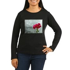 Foggy Morning Geranium Long Sleeve T-Shirt