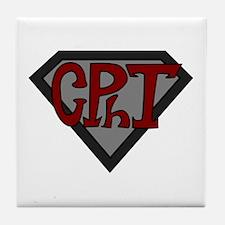 Superhero Technician Tile Coaster