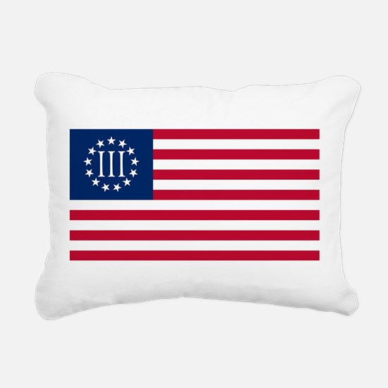 Nyberg Flag Rectangular Canvas Pillow