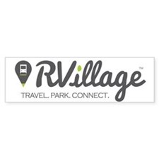 Rvillage Logo Bumper Sticker