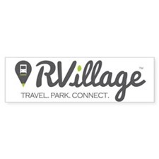 Rvillage Logo Bumper Sticker 10 Pack