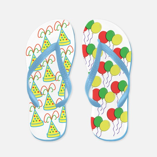 Birthday Party Flip Flops
